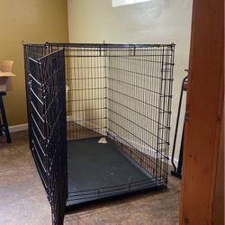 XL 2 Door Animal Crate 54 Width X 36 Depth X 45 Height for Sale in Redford Charter Township,  MI