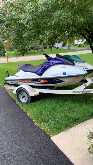 Yamaha waverunner Riva stage 3 and seadoo plus trailer for Sale in Buffalo Grove, IL