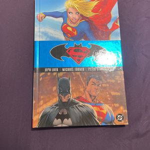 Superman Batman Supergirl Hardcover for Sale in La Habra, CA