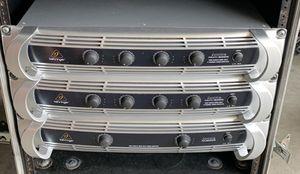 Behringer NU6000 nu4 6000 power amplifiers for Sale in Perris, CA