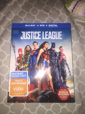 Justice League Blue Ray Deleted Scenes New for Sale in Alexandria, VA