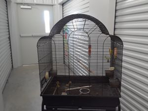 Large bird cage with stand for Sale in Cuero, TX
