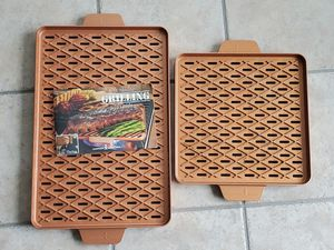 BBQ GRILL PANS - COPPER CHEF BRAND for Sale in Mundelein, IL