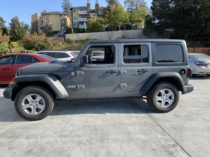 2019 Jeep Wrangler Sport Unlimited 4x4 for Sale in Castro Valley, CA