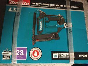 Makita nailer XTP02Z for Sale in Anaheim, CA