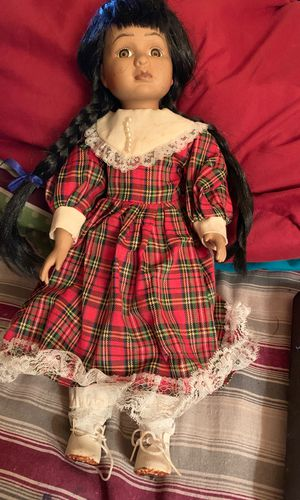 Antique porcelain Indian doll for Sale in Stone Mountain, GA