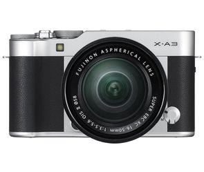 Fujifilm X-A3 Mirrorless Camera XC16-50mm F3.5-5.6 II Lens Kit - Silver for Sale in Martinez,  CA