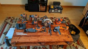 RIDGID Power Tool Set with extras for Sale in Missoula, MT
