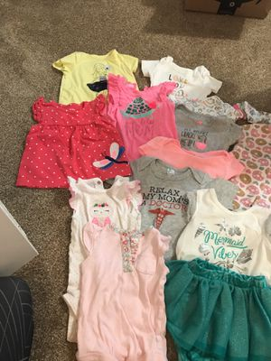 12mo baby girls clothes for Sale in Silver Spring, MD