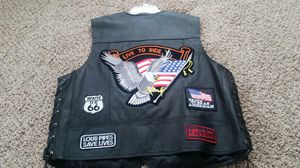 Motorcycle rider's vest large for Sale in Greeley, CO