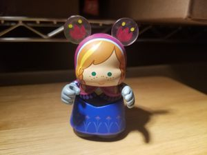 "DISNEY STORE VINYLMATION 3"" FROZEN SERIES PRINCESS ANNA COLLECTIBLE TOY FIGURE for Sale in Chino Hills, CA"
