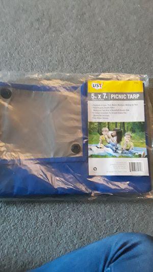 Picnic tarp 5' x 7' for Sale in Palos Hills, IL