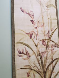 Floral Wooden Plaque for Sale in Atlanta,  GA