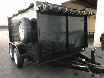 2019 Dump Trailer 8x10x4 for Sale in Los Angeles,  CA
