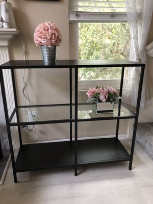 IKEA Vittsjo Shelving Unit / Console Table for Sale in Foothill Ranch, CA