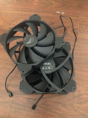 Asus rog gaming computer fans 4 pack 140 mm for Sale in Rosemead, CA