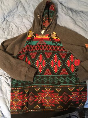 Men's (Medium) Aztec Hoodie for Sale in Philadelphia, PA