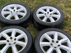 """03-05 NISSAN 350Z FACTORY 17"""" WHEELS TIRES OEM RIMS for Sale in Parsippany-Troy Hills, NJ"""