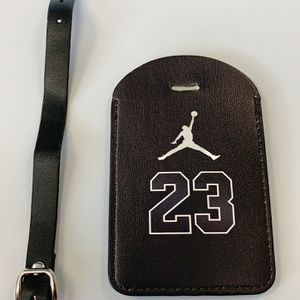 23 Jordan Luggage Tag. Faux Leather. New! for Sale in Groveland, FL