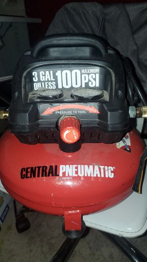 Central pneumatic 3 grelon olice 100 P as a maximum for Sale in Stockton, CA