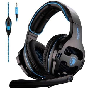 Gaming Headset Headphone 3.5mm Over-Ear with Mic Volume Control for PC/XboxOne/PS4 for Sale in Duluth, GA