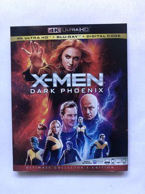 "Movie ""X-Men Dark Phoenix"" 4K UltraHd + Bluray+ Digital for Sale in Norwalk, CA"