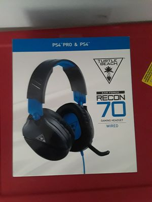 Turtle Beach Recon 70 PS4 Gaming Headset for Sale in Fort Lauderdale, FL