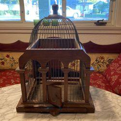Wooden Ornate Bird Cage for Sale in Phoenix,  AZ