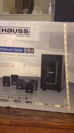 Häuss media labs PLATINUM SERIES HS-4 for Sale in San Francisco, CA