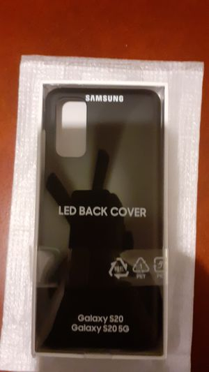 Samsung Galaxy S20 LED back case for Sale in Milwaukee, WI