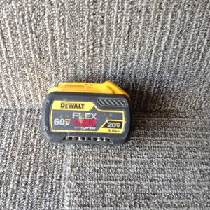 DeWalt used 60v 9.0 battery for Sale in Columbus, OH