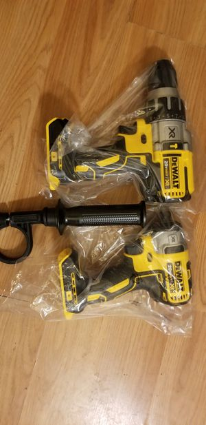 Dewalt 20v XR impact drive and hammer drill tool only for Sale in San Jose, CA