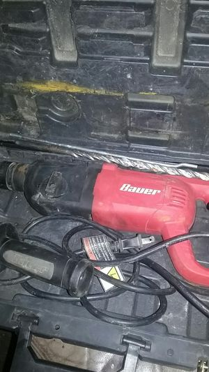 Bauer rotary hammer kit for Sale in Inglewood, CA