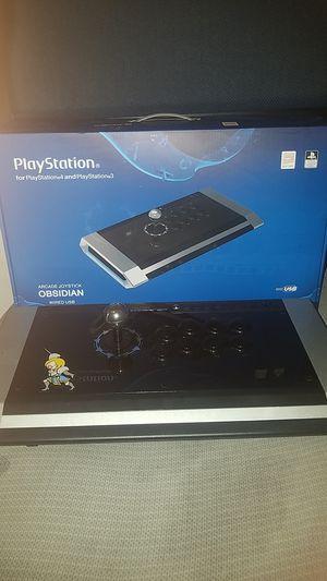 Qanba Obsidian wired USB Arcade Joystick PS4 fightstick for Sale in Deltona, FL