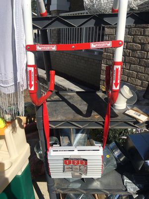 Convenient collapsible portable boat ladder for Sale in West Bloomfield Township, MI