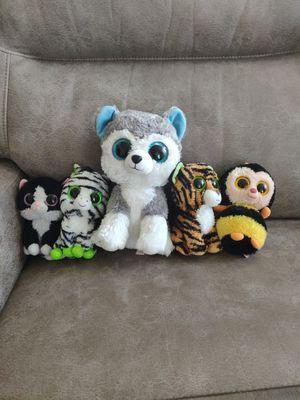 Beanie boos stuffed animals for Sale in Bradenton, FL