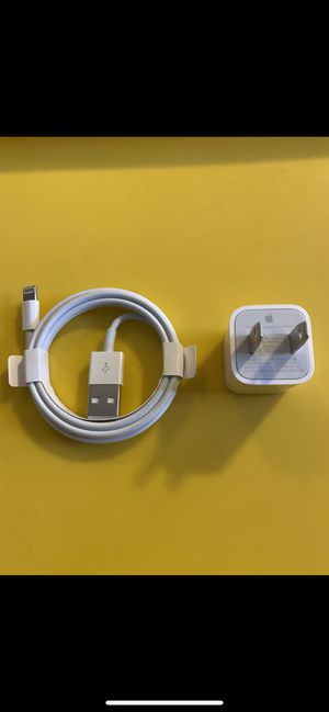 Brand New Original Apple iPhone Charger set for Sale in Santa Ana, CA