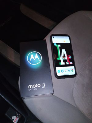 Unlocked Moto G Stylus for Sale in Moreno Valley, CA