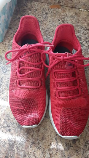 Red Adidas size 5 1/2 for Sale in Tampa, FL