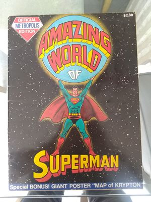 Superman - the Amazing World of Superman, the Metropolis Edition for Sale in Tampa, FL