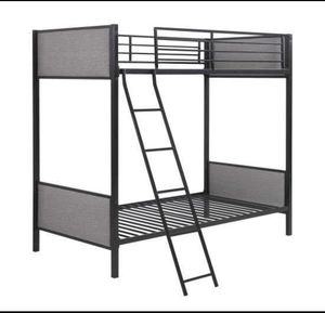 Brand New Metal Upholstered Bunk Bed T/T for Sale in La Vergne, TN