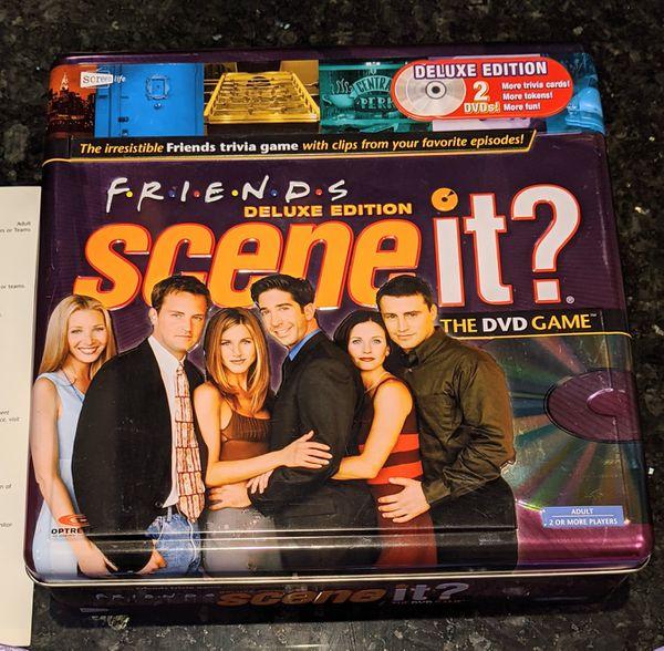 Scene it? Friends Board Game Deluxe Tin Edition