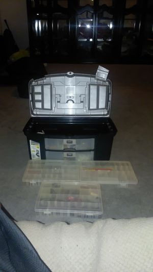 Fishing Tackle Box for Sale in Gilbert, AZ