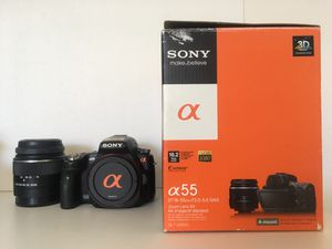 Sony SLT-A55V for Sale in San Diego, CA