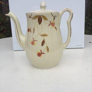 Hall Autumn Leaf Tea Pot for Sale in Bolivia, NC