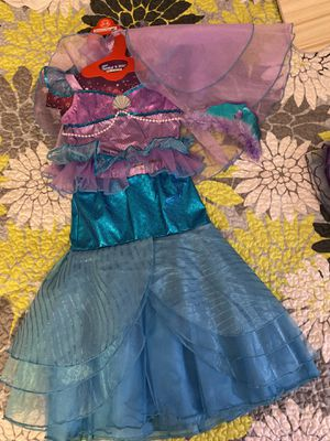 Mermaid costume for 3-4 yr old kid for Sale in Quincy, MA