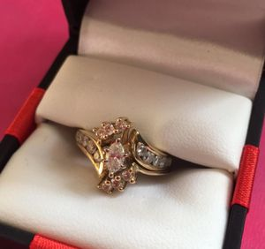 14k Gold Diamond 2and a half Karets wedding ring for Sale in Fort Wayne, IN