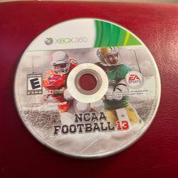 NCAA Football 13 Xbox 360 for Sale in San Angelo,  TX