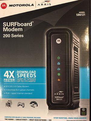 Motorola Arris SURFboard Modem 200 Series DOCSIS 3.0 for Sale in Sierra Vista, AZ