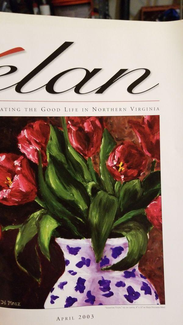 Elan Magazine, 8 older issues